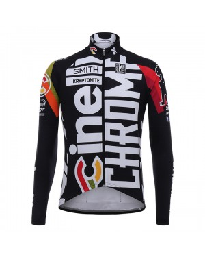 Maillot manga larga  2017 Cinelli Chrome Training Negro
