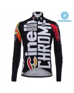 Chaqueta 2017 Cinelli Chrome Training Negro  Invierno