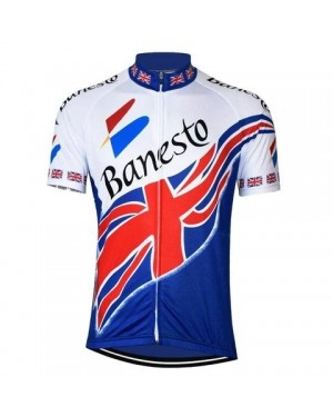 Maillot manga corta  Banesto 1997 Retro UK Champion