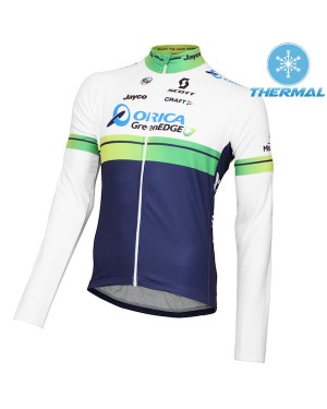 Chaqueta manga larga 2015 Orica GreenEdge Invierno