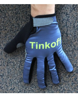 Guantes Ciclismo 2016 Tinkoff Race Gris Invierno