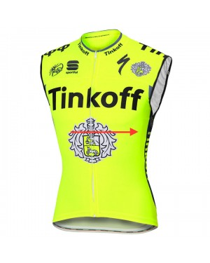 Maillot sin Mangas 2016 Tinkoff Race Equipo (Chaleco verano)