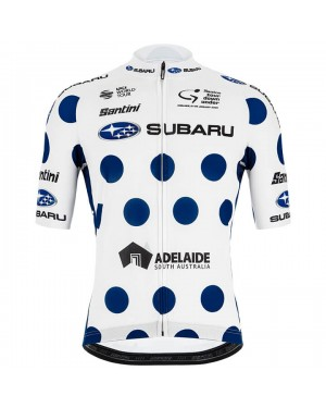 Maillot manga corta  2020 Subaru Tour Down Under polka dot
