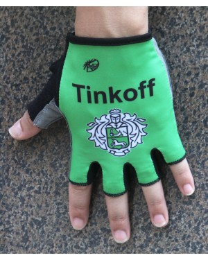 Guantes Ciclismo 2016 Tinkoff Race Verde